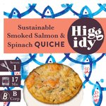 Higgidy Little Whisky Smoked Salmon & Spinach Quiche