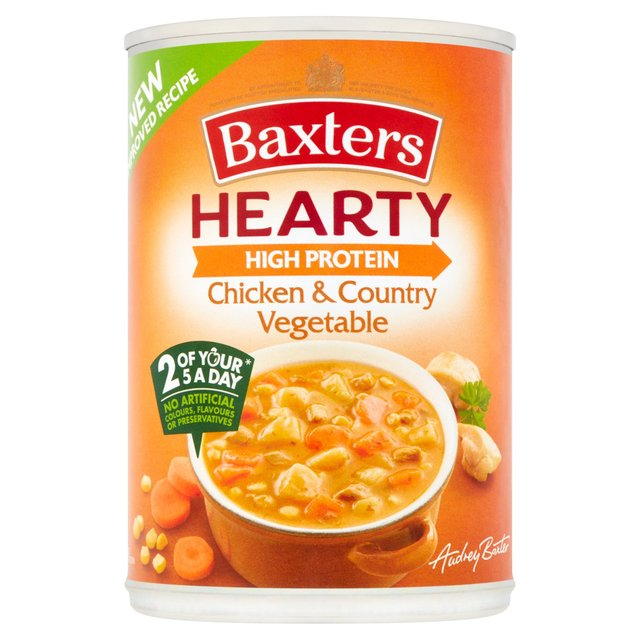 Baxters Hearty Chicken & Vegetable Soup 400g from Ocado