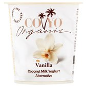 CO YO Organic Vanilla Dairy Free Coconut Milk Yogurt Alternative