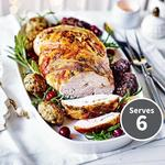 Waitrose Turkey Breast Joint with 12 Stuffing Balls
