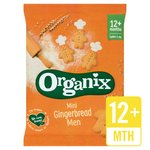 Organix Goodies Mini Gingerbread Men Biscuits