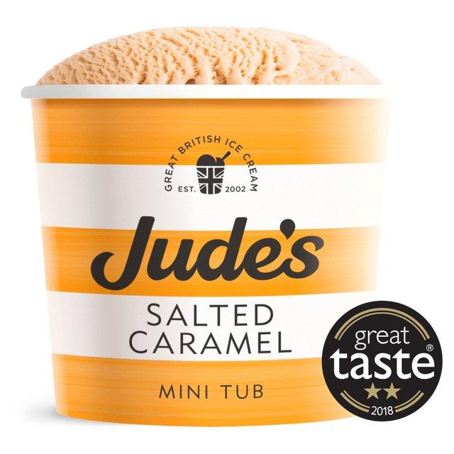 Jude's Salted Caramel Dairy Ice Cream | Ocado