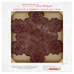 Waitrose Snowflake Chocolate Tiffin Cake