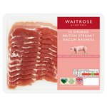 Waitrose Smoked Dry Cure Streaky Bacon