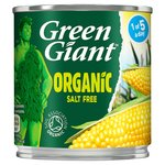 Green Giant Organic Salt Free Sweetcorn