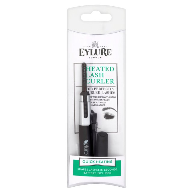 how to use sephora heated eyelash curler