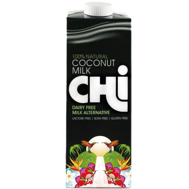 chi 100 natural coconut milk 1l from ocado