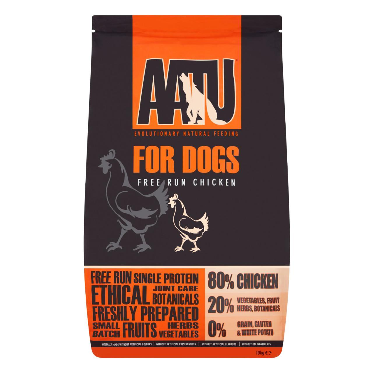 An image of AATU 80/20 Chicken Complete Grain Free Dry Dog Food