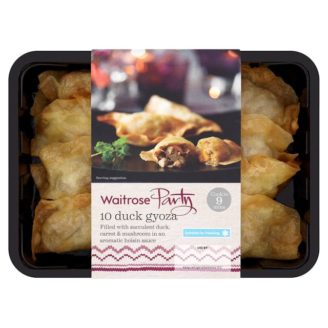 Chilled Party Food 10 Duck Goyza Waitrose