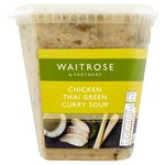 Waitrose Green Thai & Chicken Soup