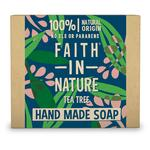 Faith in Nature Tea Tree Pure Hand Made Soap Bar