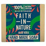 Faith in Nature Aloe Vera Pure Hand Made Soap Bar