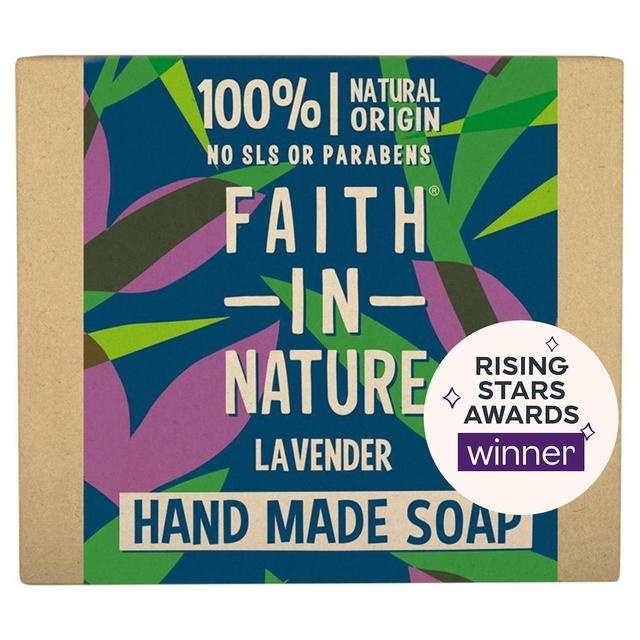Faith in Nature Lavender Pure Hand Made Soap Bar