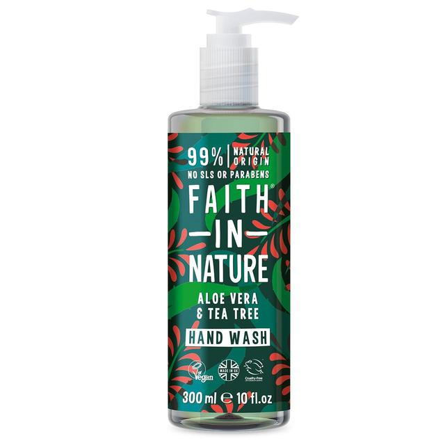 Faith in Nature Aloe Vera Tea Tree Handwash