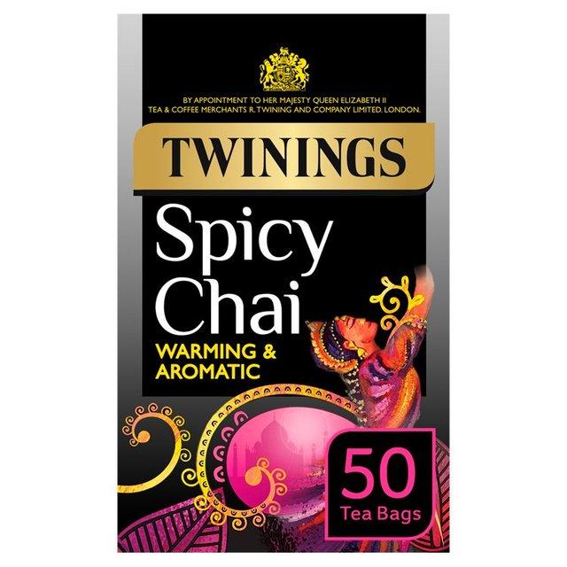 Ocado: Twinings Spicy Chai Tea 20 per pack(Product ...