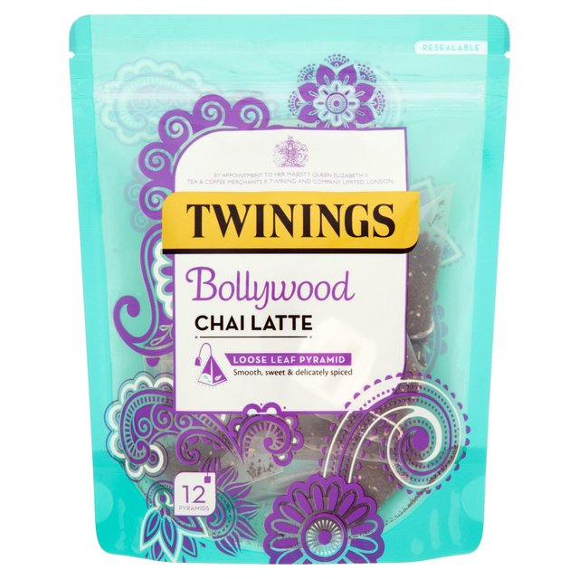 Twinings Bollywood Chai Latte Tea Bags From Ocado