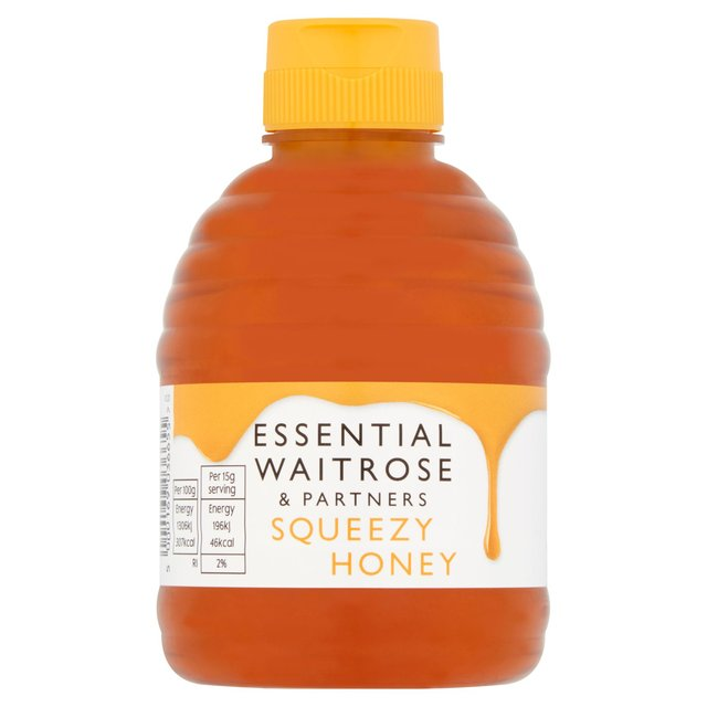 Essential Waitrose Pure Clear Easy Squeezy Honey