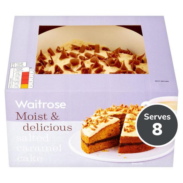 Waitrose Dairy Free Birthday Cake