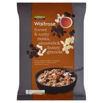 Waitrose Sweet & Nutty Raisin, Almond & Honey Oat Clusters