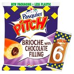 Brioche Pasquier Pitch Chocolate Filled Brioche