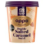 Oppo Salted Caramel with Lucuma Low Calorie Ice Cream