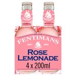 Fentimans Botanically Brewed Rose Lemonade