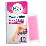 Veet Wax Strips Normal Skin For Body
