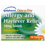Galpharm One a Day Hayfever & Allergy Relief Tablets