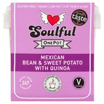 Soulful Mexican Bean & Sweet Potato with Quinoa