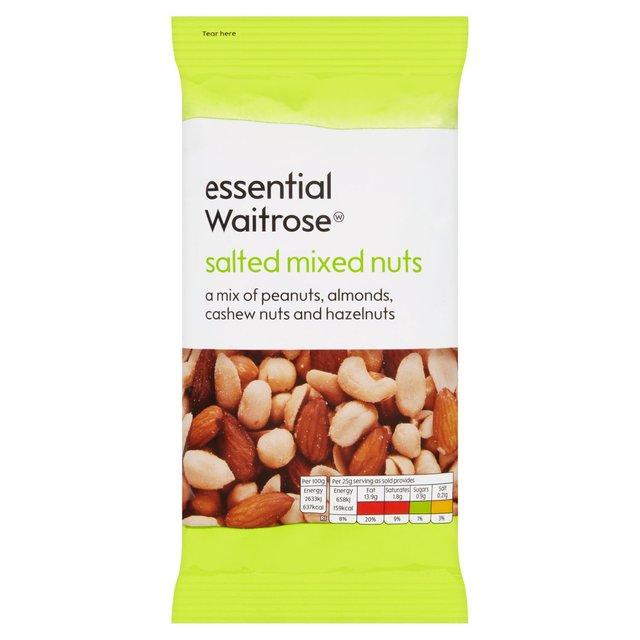 Essential Waitrose Salted Nut Mix   Ocado