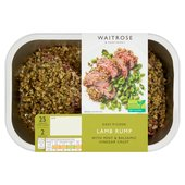 Easy to Cook Lamb Rump with Mint & Balsamic Crust Waitrose
