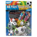 Football Favour Pack - 48 pieces