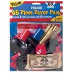 Pirate Party Value Favour Pack - 48 piece