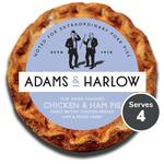 Adams & Harlow Chicken & Ham Pie