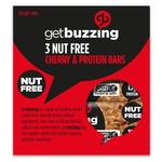 Getbuzzing Nut Free Cherry Protein Bars