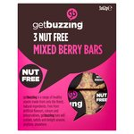 Getbuzzing Nut Free Mixed Berry Bars