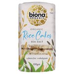 Biona Organic Rice Cakes With Sea Salt