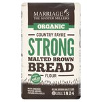 Marriage's Organic Strong Malted Brown Bread Flour