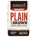 Marriage's Organic Light Brown Plain Flour