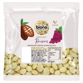 Biona Organic Raisins Yoghurt White Chocolate