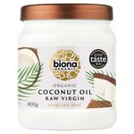 Biona Organic Coconut Virgin Oil Raw