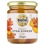 Biona Organic Stem Ginger In Syrup