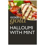 Ocado Gold Traditional Halloumi with Mint