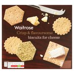Waitrose Christmas Biscuits for Cheese Selection