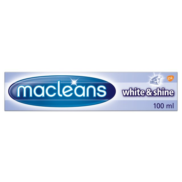 Macleans White N Shine Toothpaste 100ml From Ocado