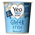 Yeo Valley Organic 0% Fat Greek Style Natural