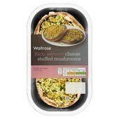 Waitrose Gruyere Stuffed Mushrooms