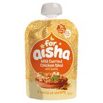 For Aisha Mild Curried Chicken Dhal with Lentils