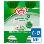 Cow & Gate 1 First Baby Milk Formula Multipack From Birth