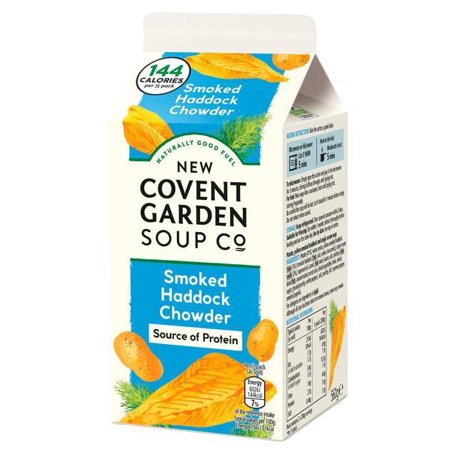 New Covent Garden Smoked Haddock Chowder 600g from Ocado